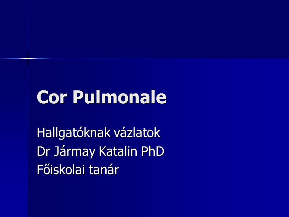 Hallgatóknak vázlatok Dr Jármay Katalin PhD Főiskolai tanár