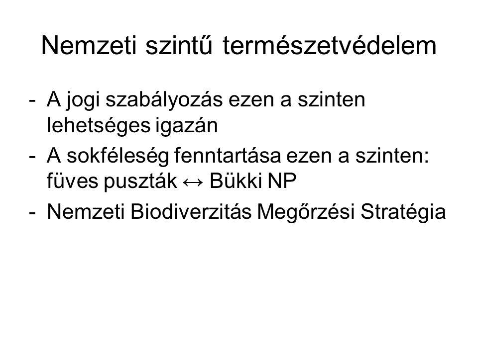 Nemzeti szintű természetvédelem