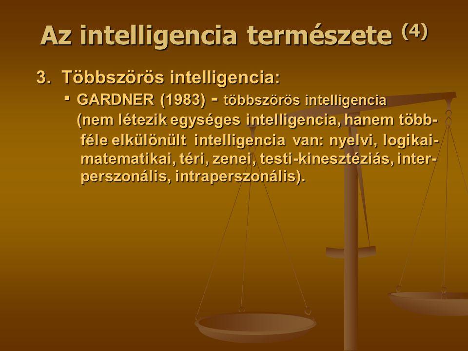 Az intelligencia természete (4)