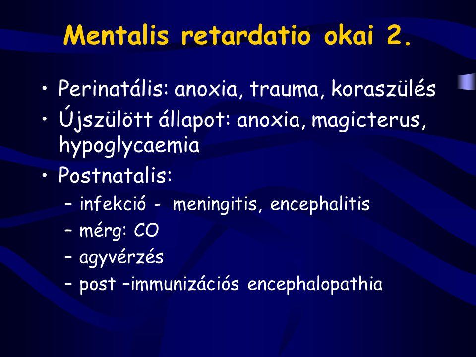 Mentalis retardatio okai 2.