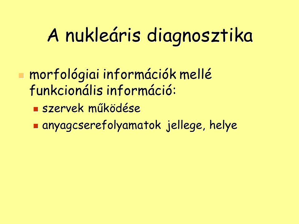 A nukleáris diagnosztika