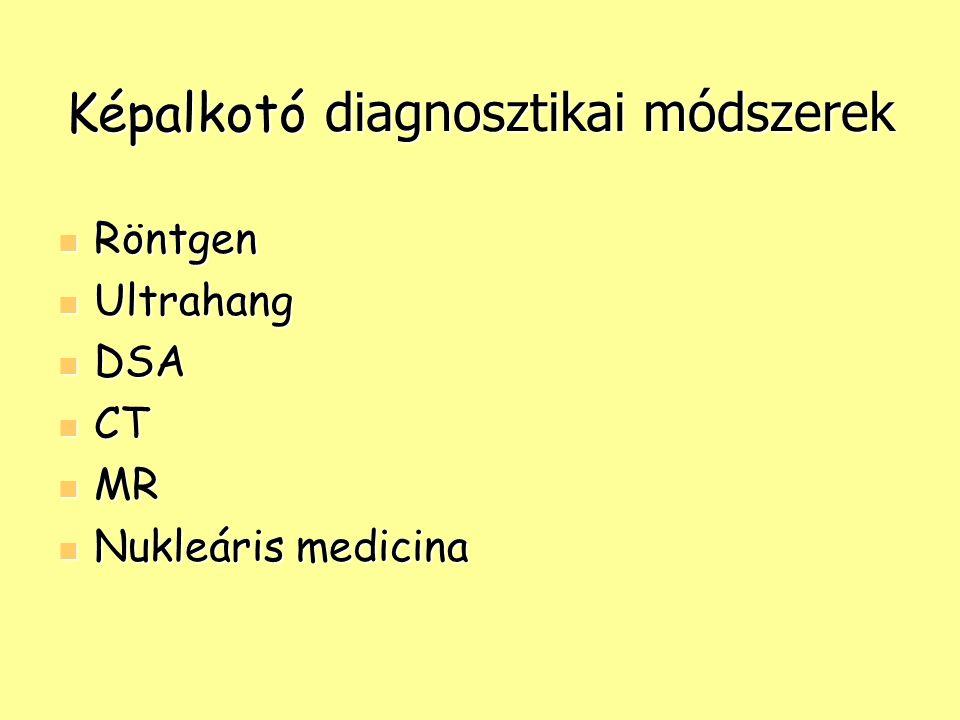 Képalkotó diagnosztikai módszerek