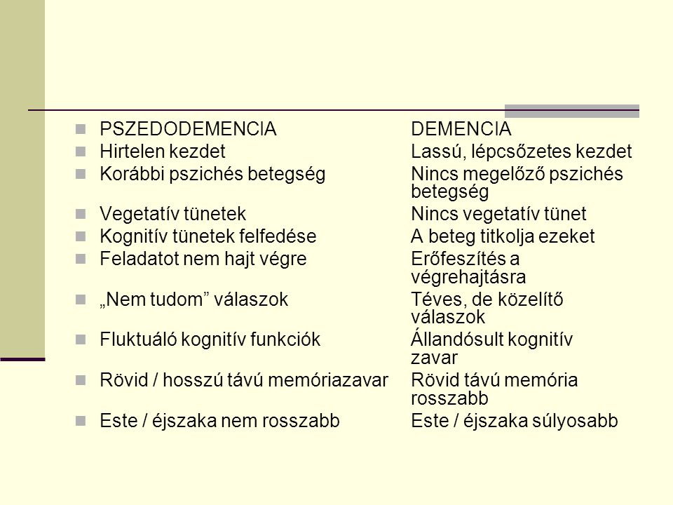 PSZEDODEMENCIA DEMENCIA