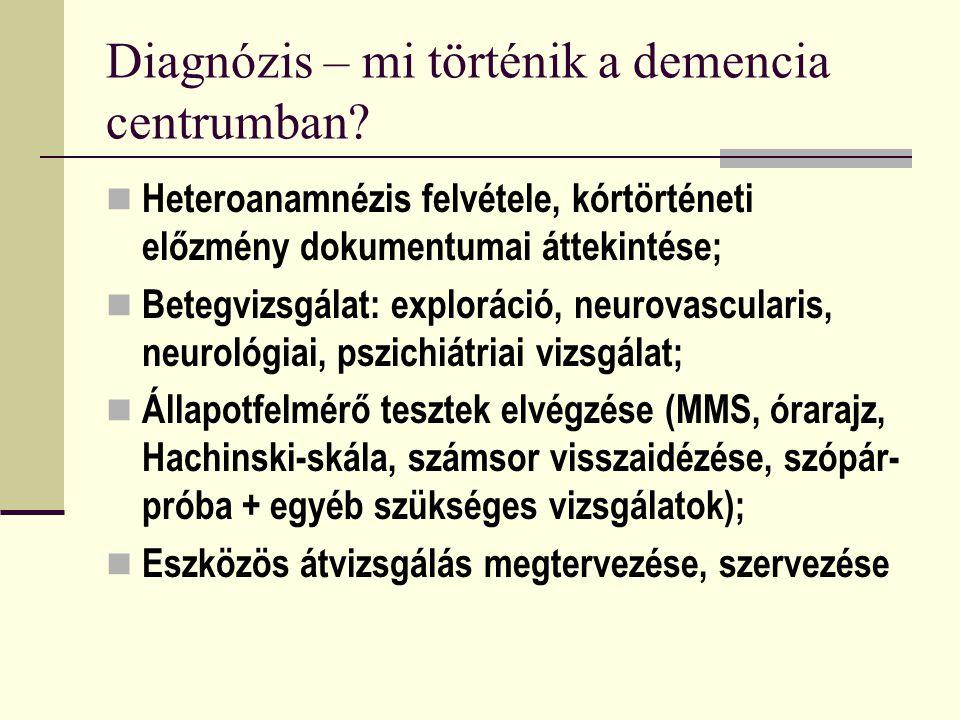 Diagnózis – mi történik a demencia centrumban