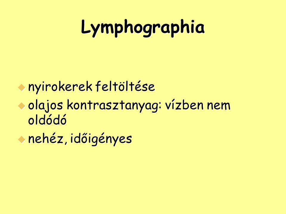 Lymphographia nyirokerek feltöltése