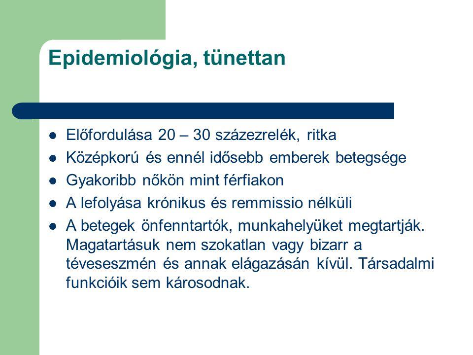 Epidemiológia, tünettan