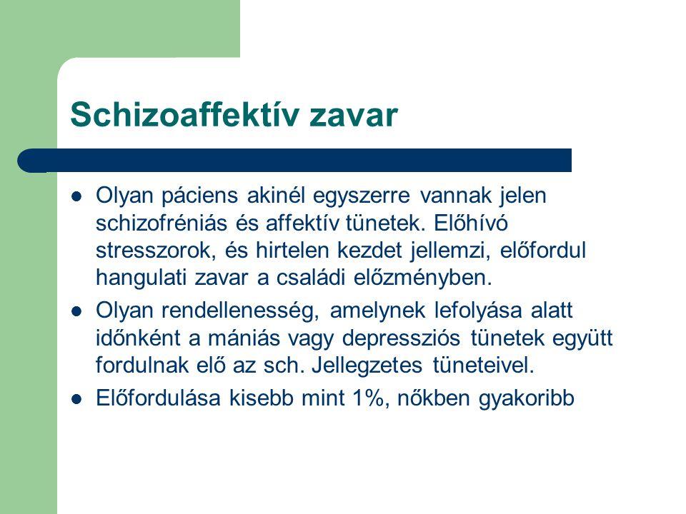 Schizoaffektív zavar