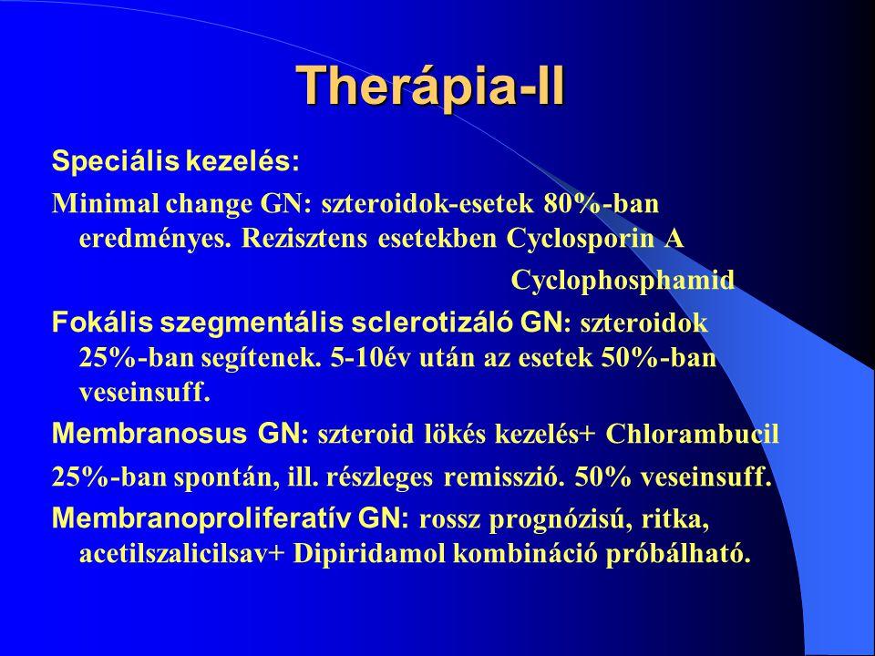 Therápia-II Speciális kezelés: