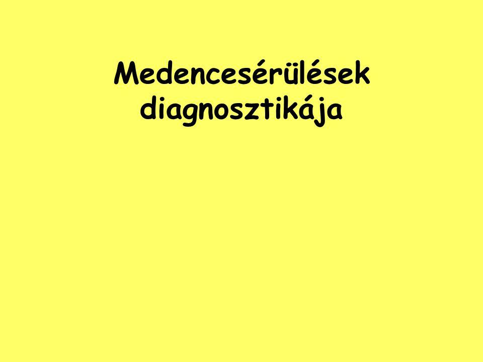 Medencesérülések diagnosztikája