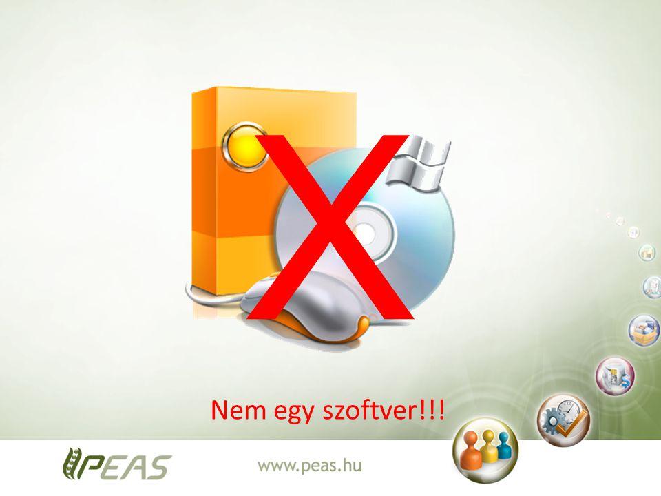 X Nem egy szoftver!!!