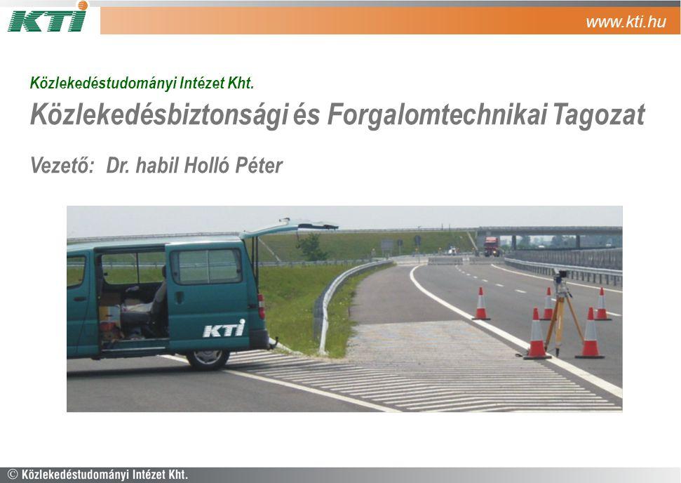 Közlekedésbiztonsági és Forgalomtechnikai Tagozat