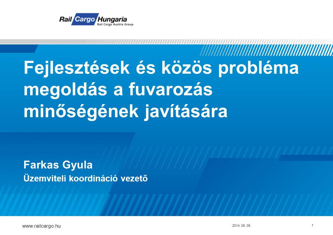 Fejlesztések és közös probléma megoldás a fuvarozás minőségének javítására