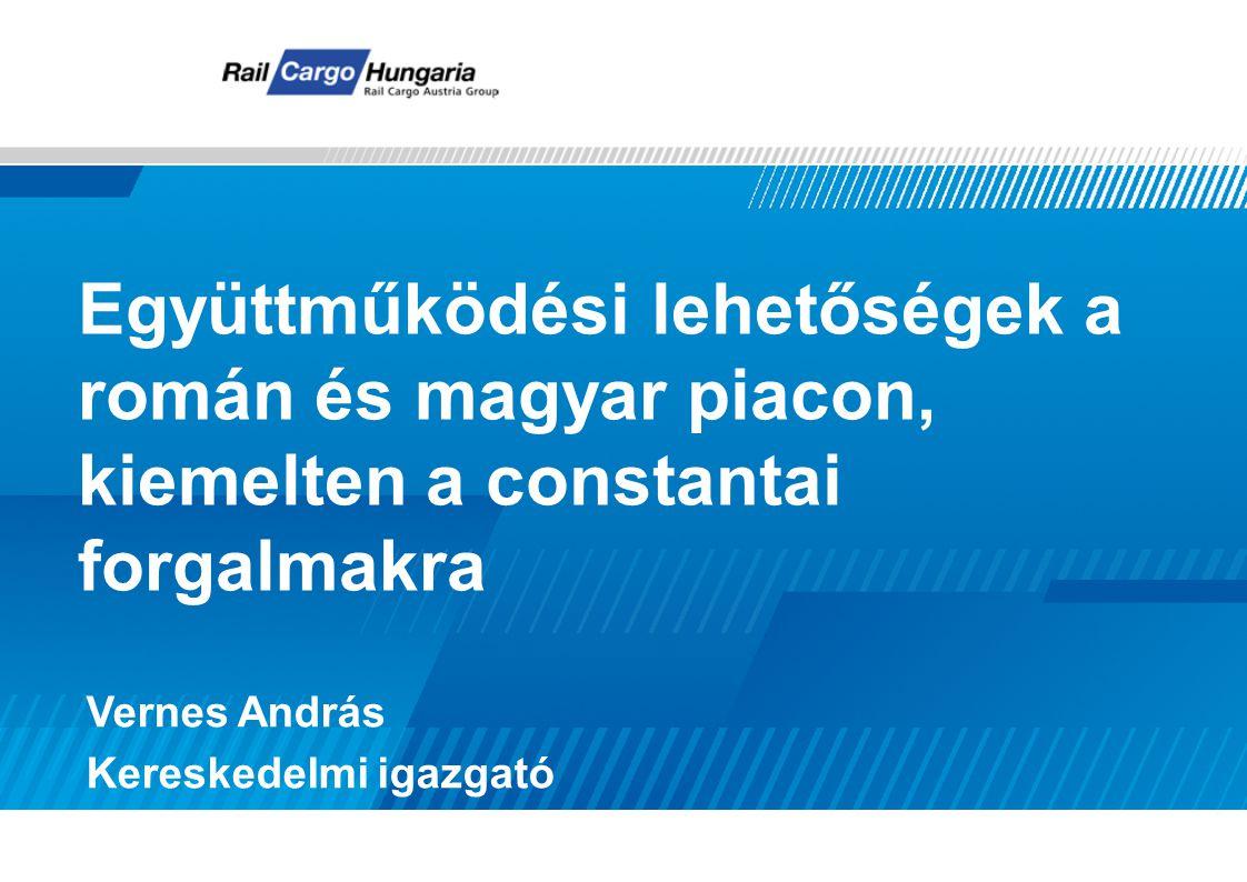 Együttműködési lehetőségek a román és magyar piacon, kiemelten a constantai forgalmakra