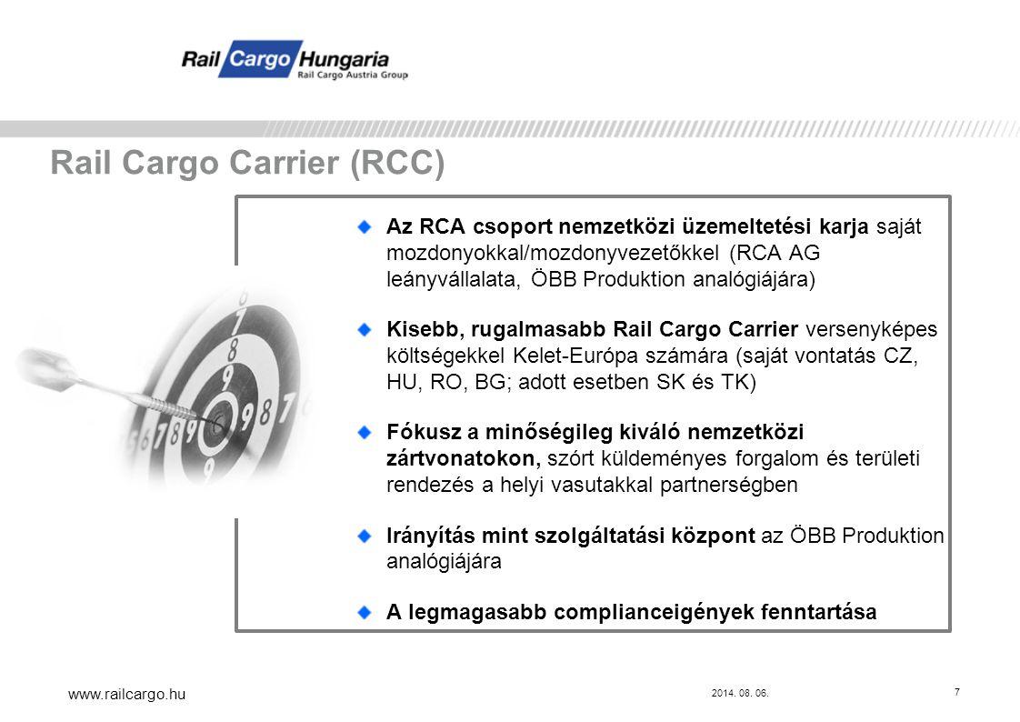 Rail Cargo Carrier (RCC)