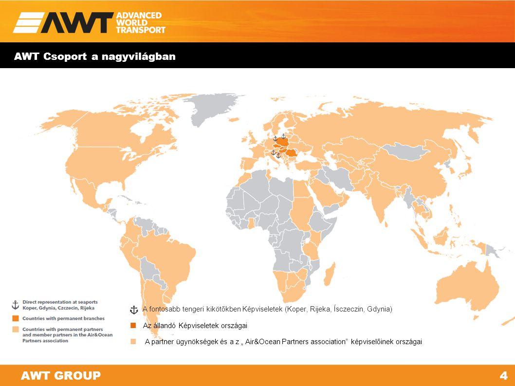 AWT Csoport | Profil ÁLLANDÓ KÉPVISELETEK. Kelet- és Közép-Európában a logisztikai és fuvarozási szolgáltatások kulcsszereplője.