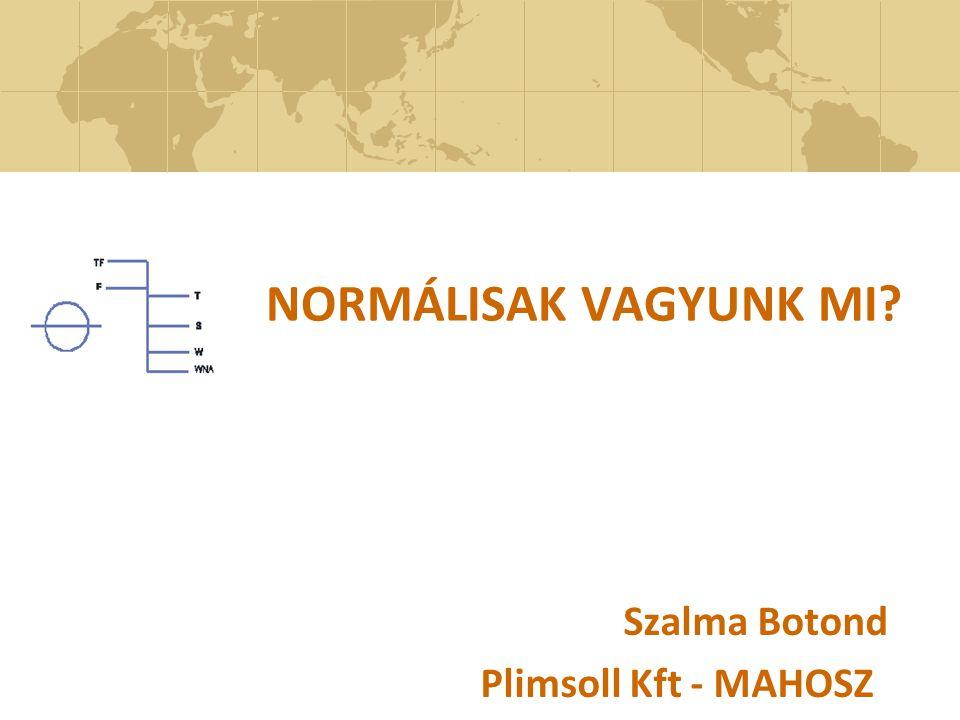 Szalma Botond Plimsoll Kft - MAHOSZ