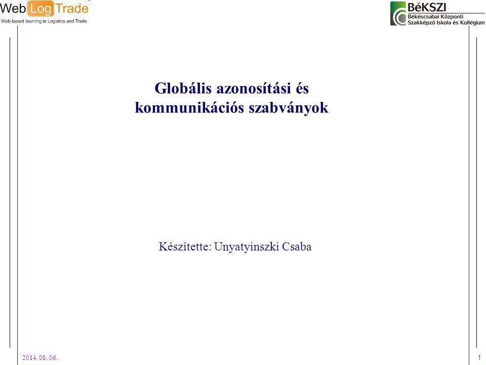 Globális azonosítási és kommunikációs szabványok