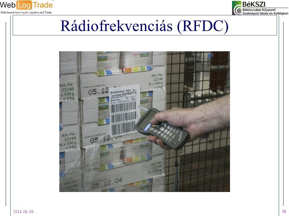 Rádiofrekvenciás (RFDC)