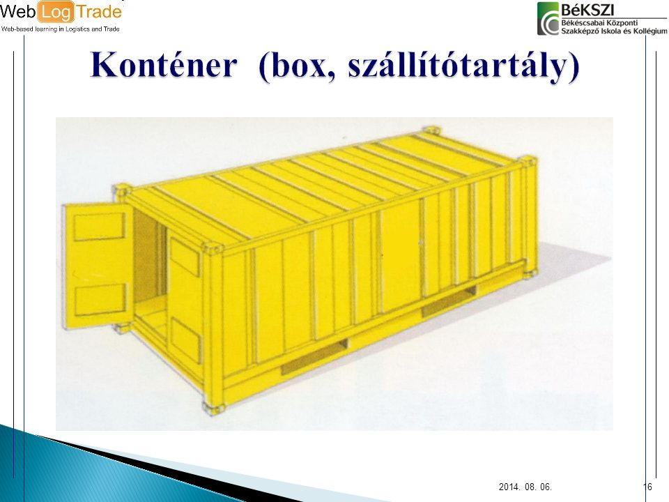 Konténer (box, szállítótartály)