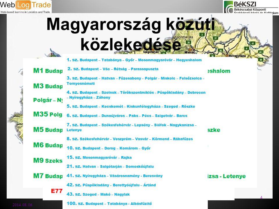 Magyarország közúti közlekedése