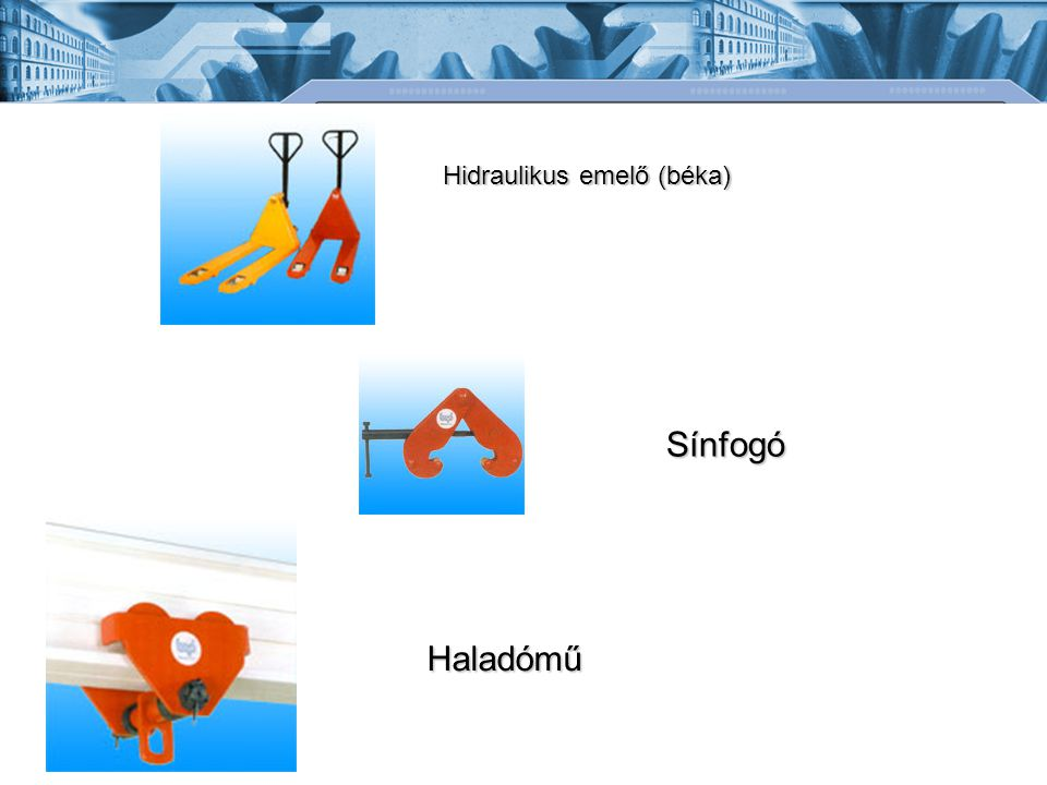 Hidraulikus emelő (béka)
