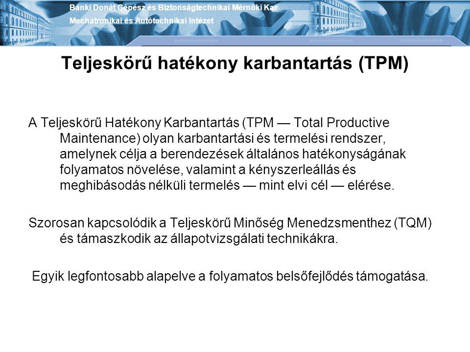 Teljeskörű hatékony karbantartás (TPM)