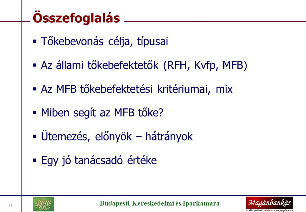 A Magánbankár Kft.