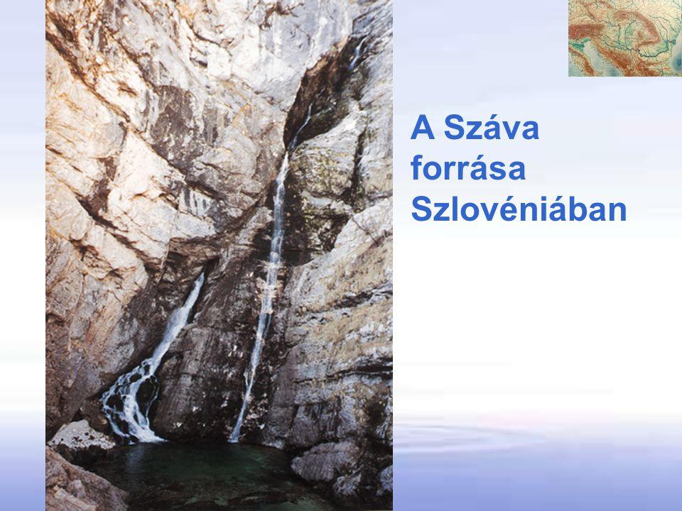 A Száva forrása Szlovéniában