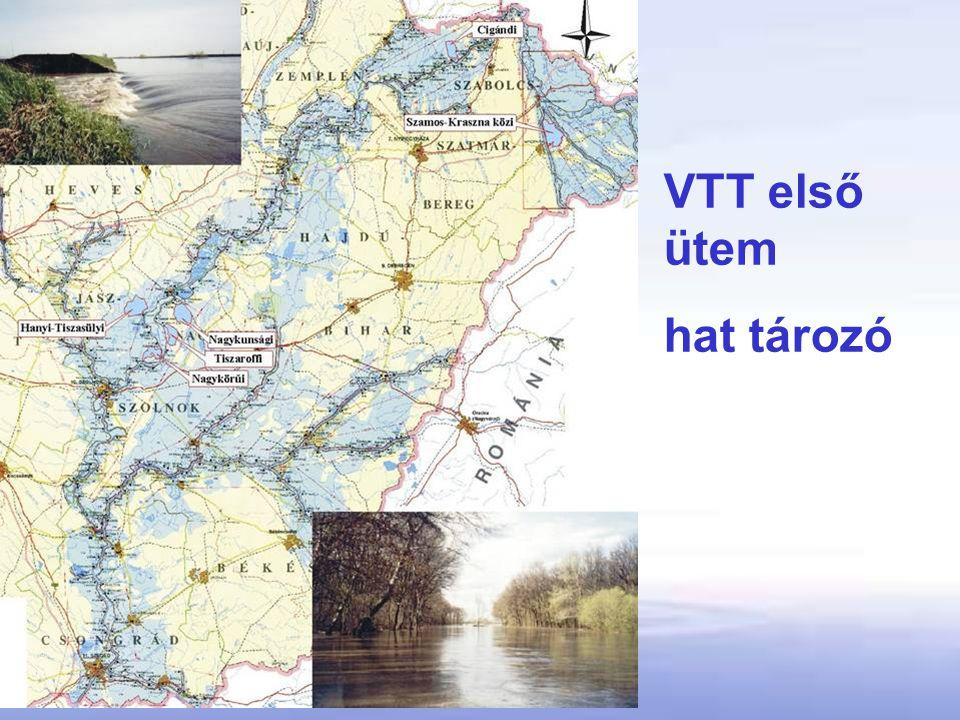 VTT első ütem hat tározó