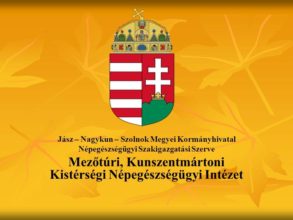 Mezőtúri, Kunszentmártoni Kistérségi Népegészségügyi Intézet