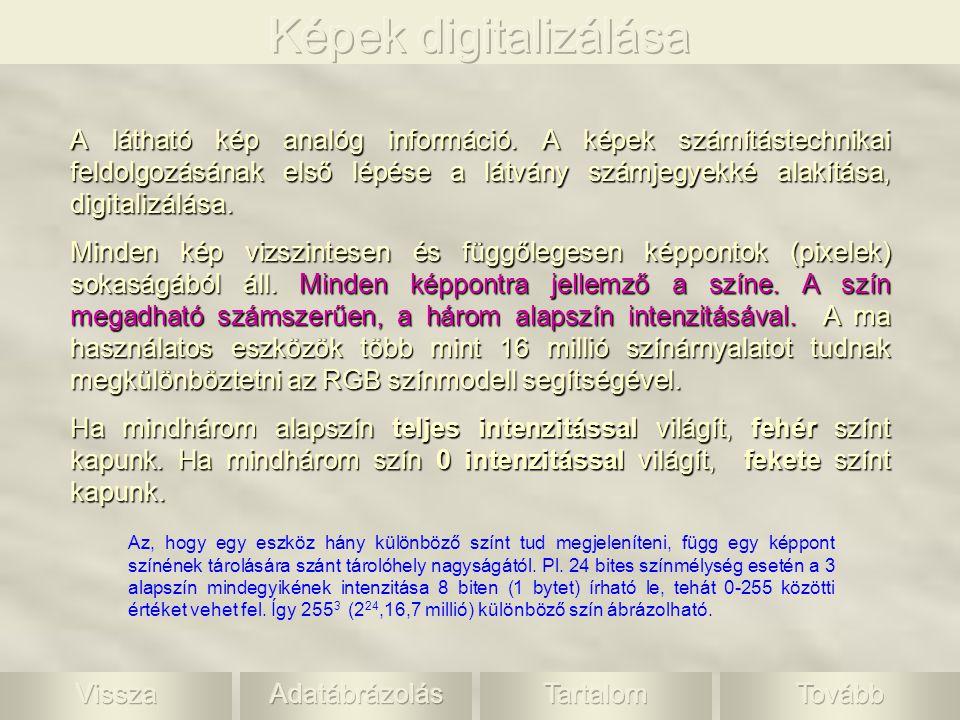 Képek digitalizálása