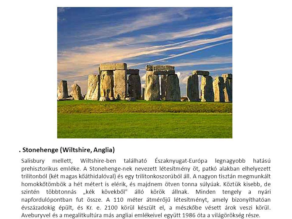 . Stonehenge (Wiltshire, Anglia)