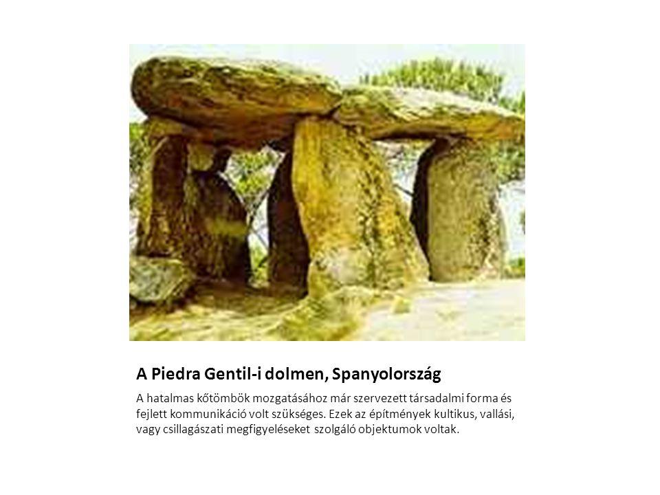 A Piedra Gentil-i dolmen, Spanyolország