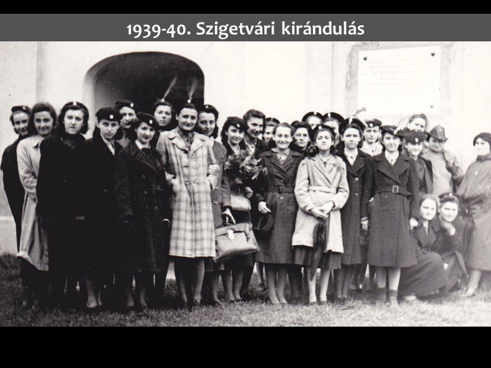 1939-40. Szigetvári kirándulás