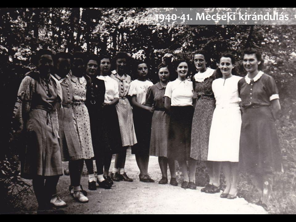 1940-41. Mecseki kirándulás