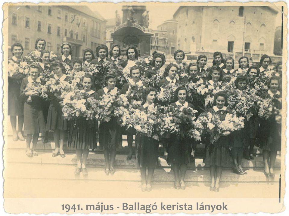 1941. május - Ballagó kerista lányok