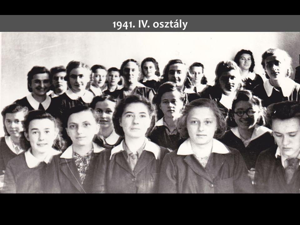 1941. IV. osztály