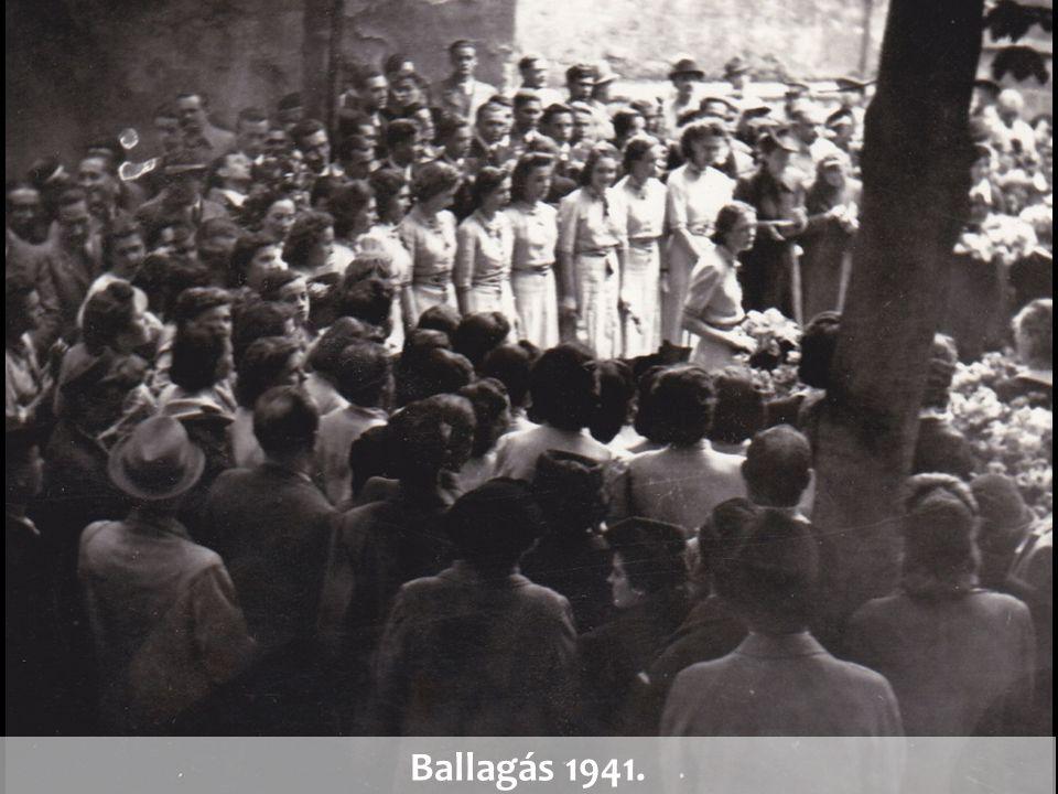 Ballagás 1941.