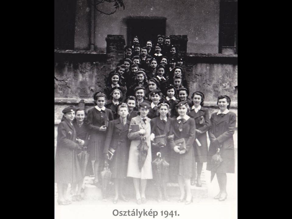 Osztálykép 1941.
