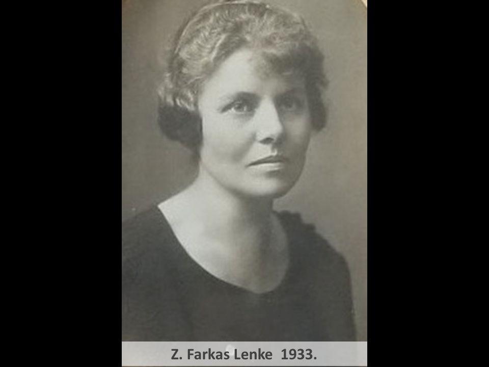 Z. Farkas Lenke 1933.