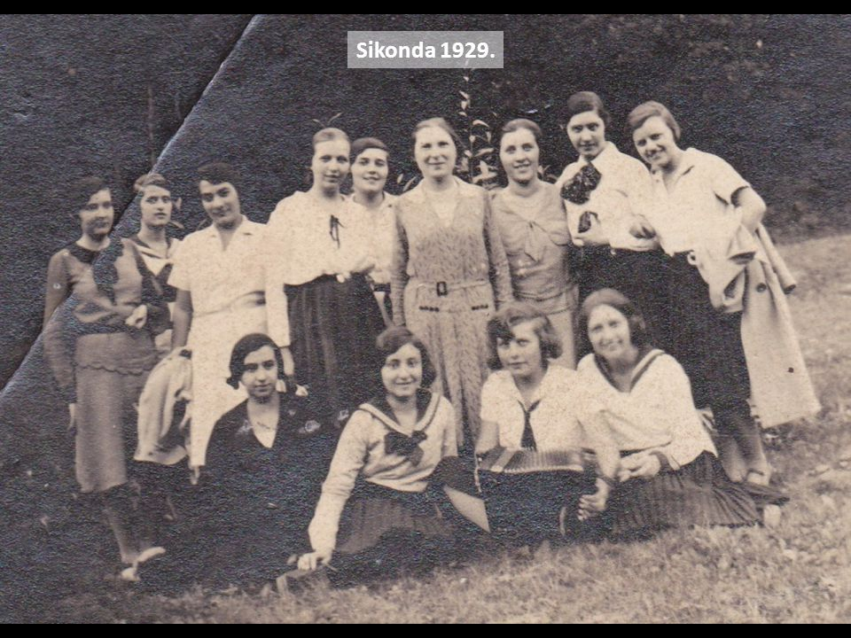 Sikonda 1929.