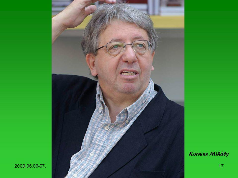 Korniss Mihály 2009.06.06-07. Könyvhét, 2009