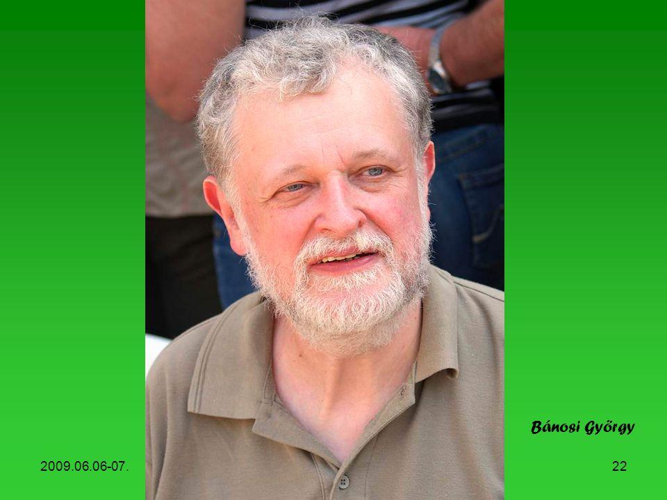 Bánosi György 2009.06.06-07. Könyvhét, 2009