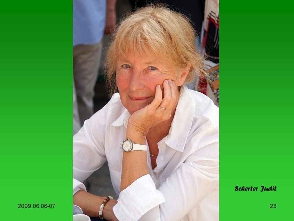 Scherter Judit 2009.06.06-07. Könyvhét, 2009
