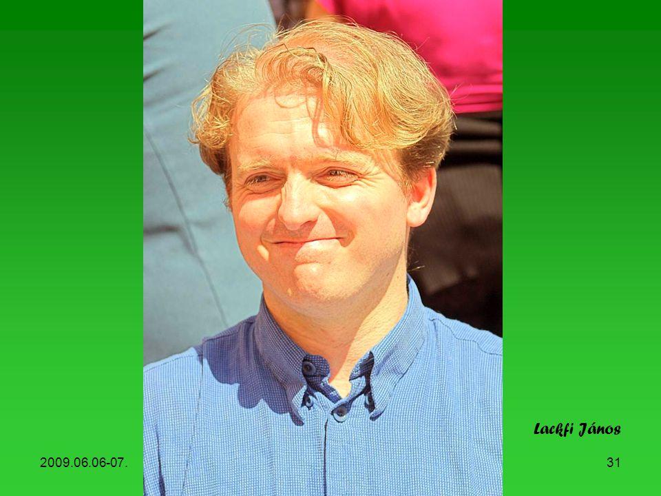 Lackfi János 2009.06.06-07. Könyvhét, 2009