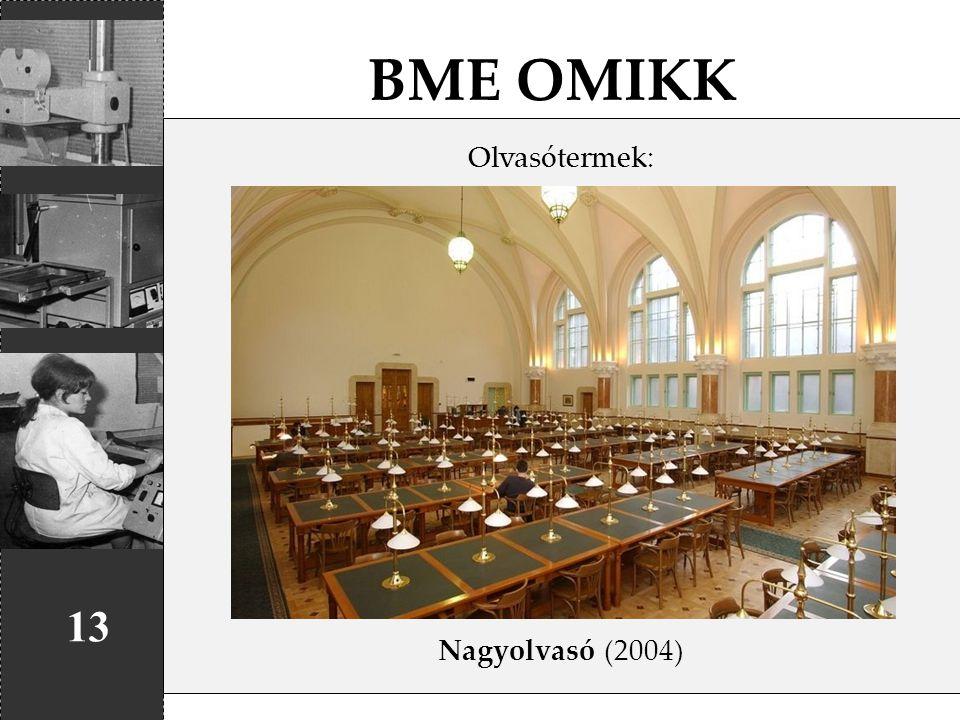 BME OMIKK Olvasótermek: Nagyolvasó (2004) 13