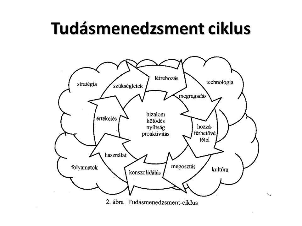 Tudásmenedzsment ciklus