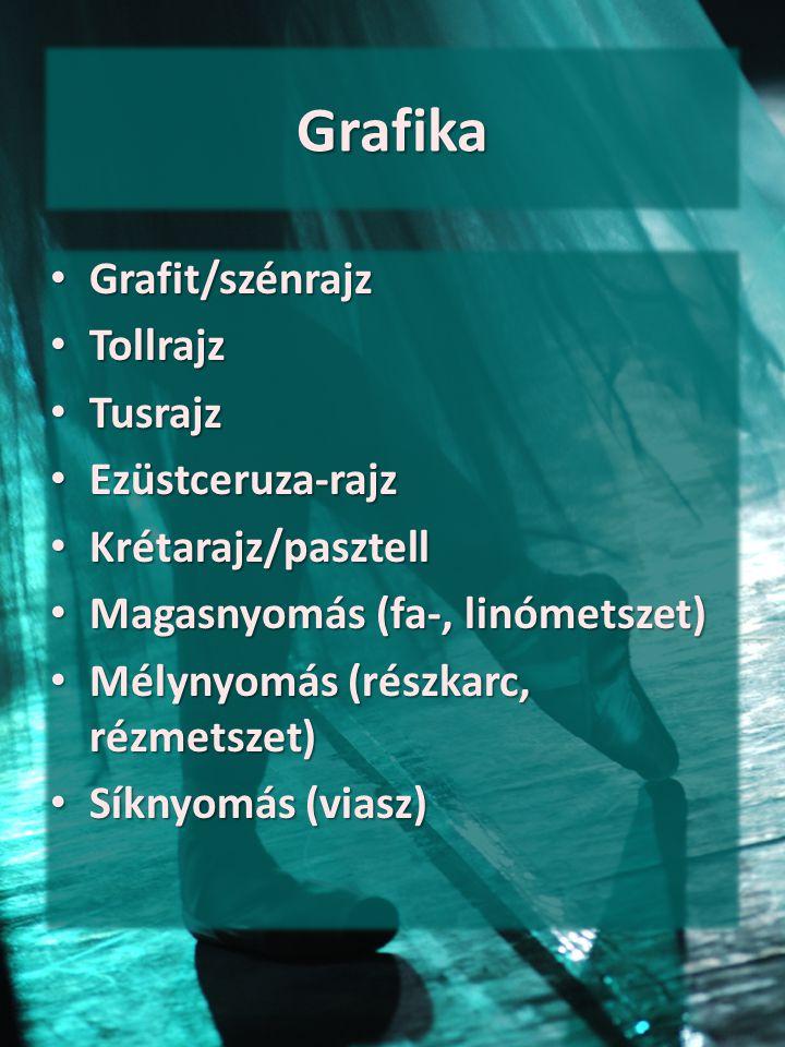 Grafika Grafit/szénrajz Tollrajz Tusrajz Ezüstceruza-rajz