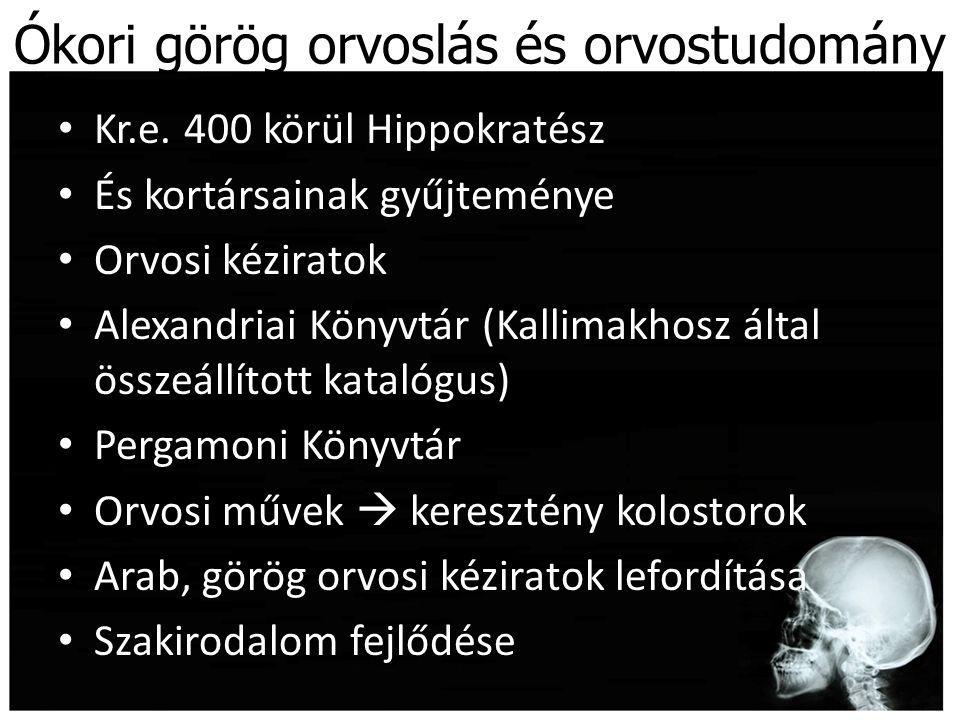 Ókori görög orvoslás és orvostudomány