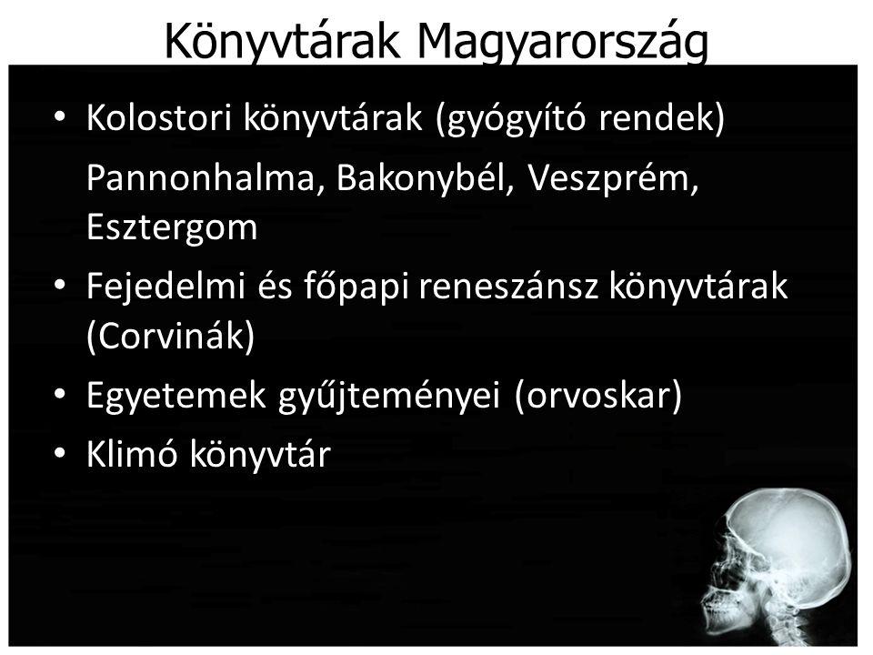 Könyvtárak Magyarország